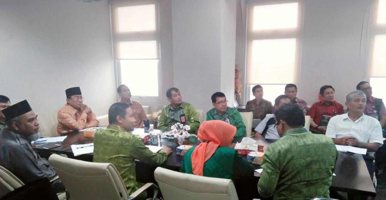 Bupati Wardan Gelar Audiensi Bersama KPU Provinsi Riau