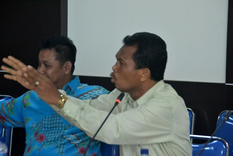 Komisi IV DPRD Minta MTsN Tembilahan Tetap Laksanakan UNBK