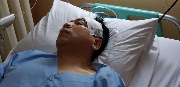 Foto Setya Novanto Dirawat di RS Medika Permata Hijau