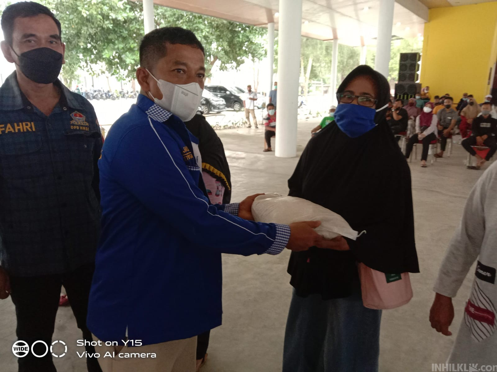 DPC HNSI Sergai Sukseskan Vaksinasi 300 Nelayan
