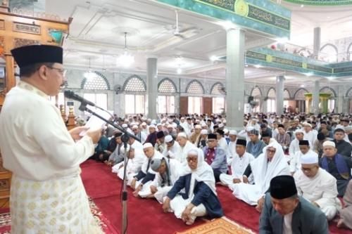 Idul Fitri, Sekdakab Inhil Ajak Masyarakat Saling Bantu dan Saling Memaafkan