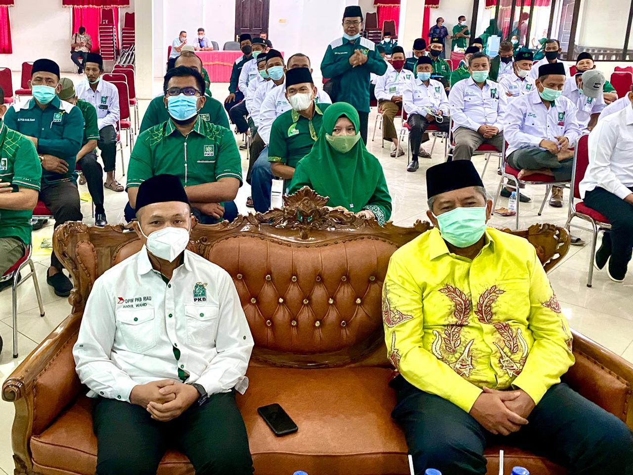 Ketua PKB Riau Ajak Bupati Siak Bersama Memajukan Riau