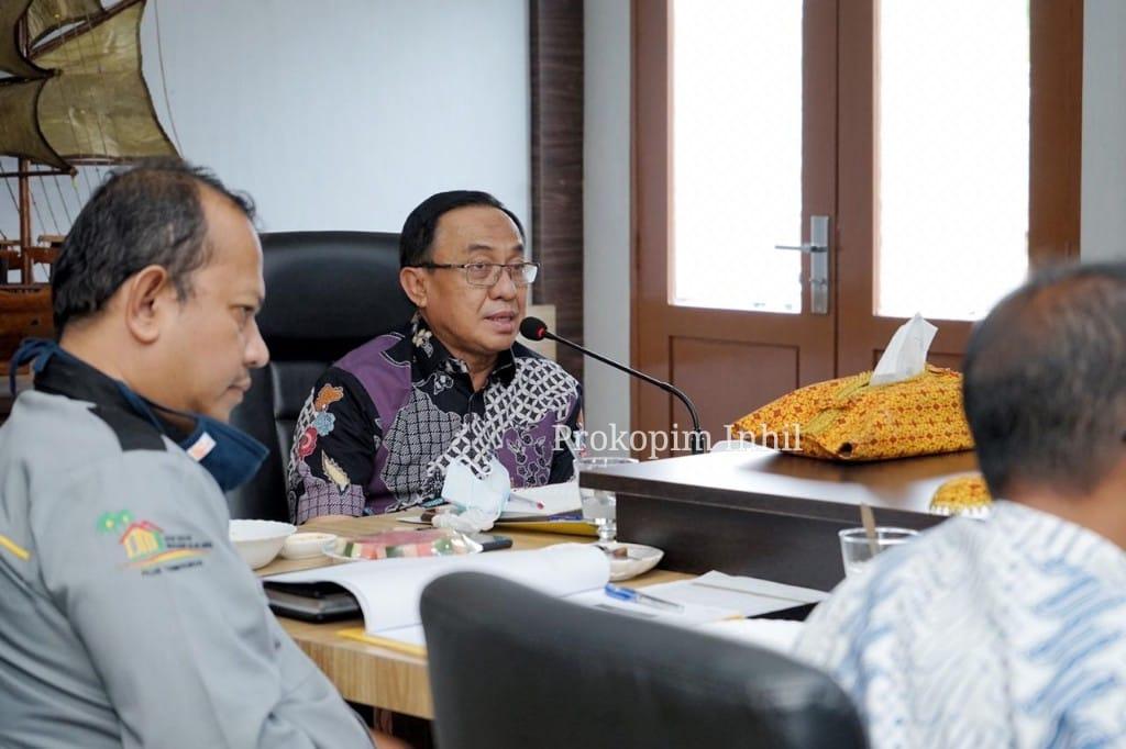 Bupati Inhil: BUMDes Bersama Bukan Saingan PT KIG