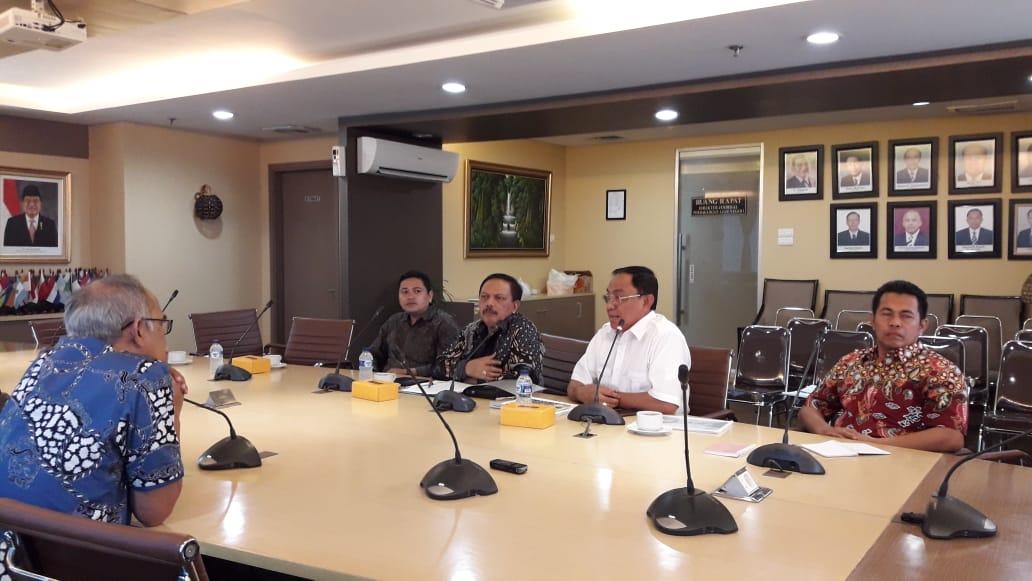 Bupati Inhil Audiensi Bersama Kemendag RI Bahas Peluang Investasi Dan Ekspor Kelapa
