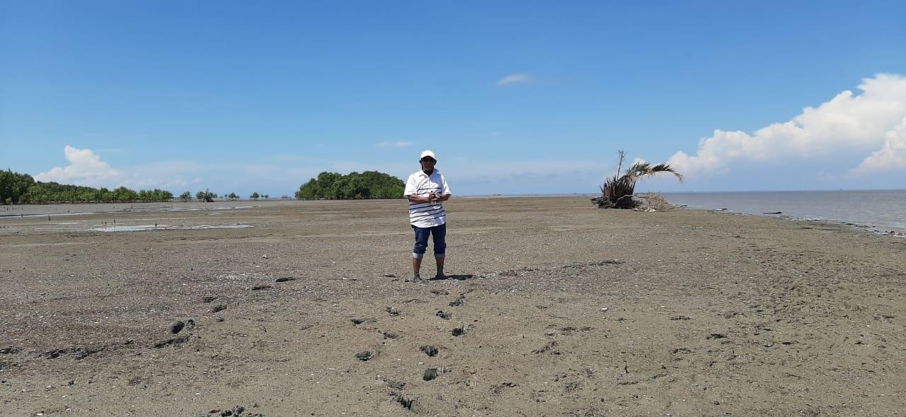 Hasannudin Akan Dorong Pemda Inhil Kembangkan Potensi Pantai Terumbu Mabloe