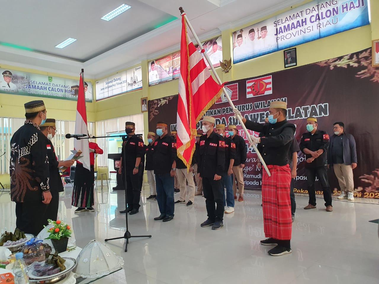 Gubri Hadiri Pelantikan PW IPSS Riau