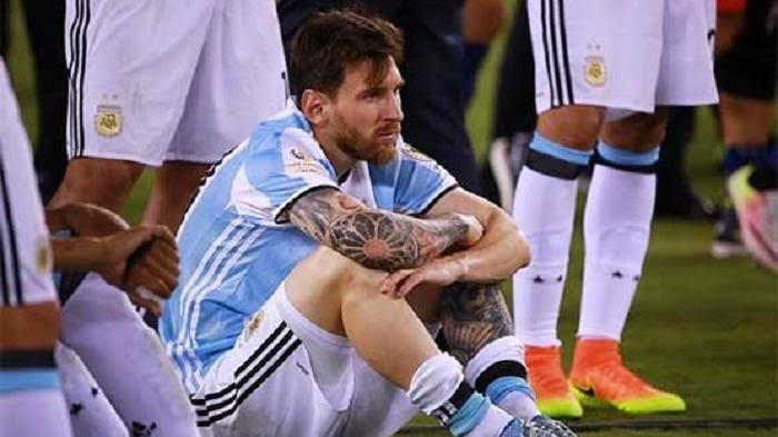 Jadi Salah Satu Pemain Terhebat Dalam Sejarah, Ini  5 Penyesalan Terbesar di Karier Sepakbola Lionel Messi
