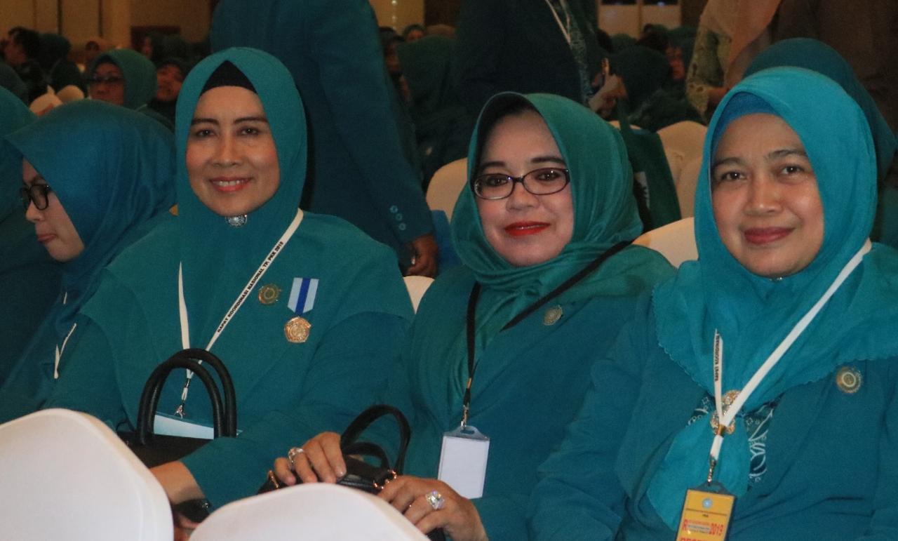 Zulaikhah Ikuti Rakornas PKK di Jakarta