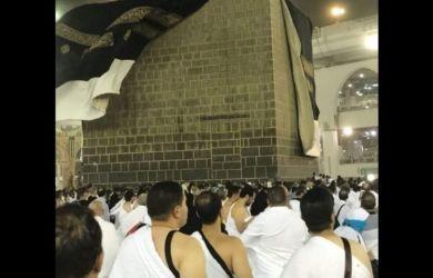 Video: Cuaca Buruk di Mekkah, Ka'bah Diterjang Angin Kencang