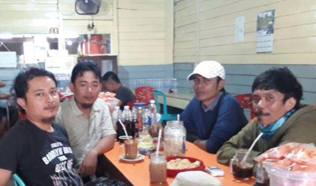 Pengurus DPC Partai Idaman Inhil Kunjungi PAC Kecamatan GAS