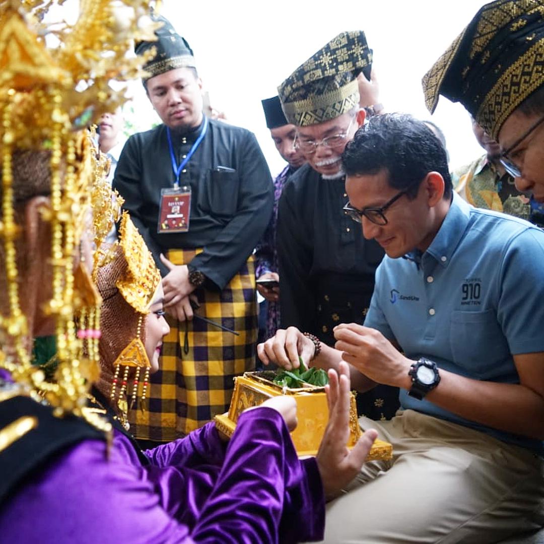 Jika Terpilih, Sandiaga Uno Diminta Pilih Menteri Orang Riau