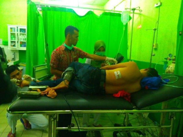 BENTROK! Satu Tewas, Anggota DPRD Ditikam di Rusuk, Dada dan Punggung