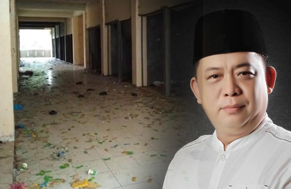 Dewan Minta Tutup Akses Masuk Pasar Sungai Guntung yang Dipenuhi Bungkus Kondom