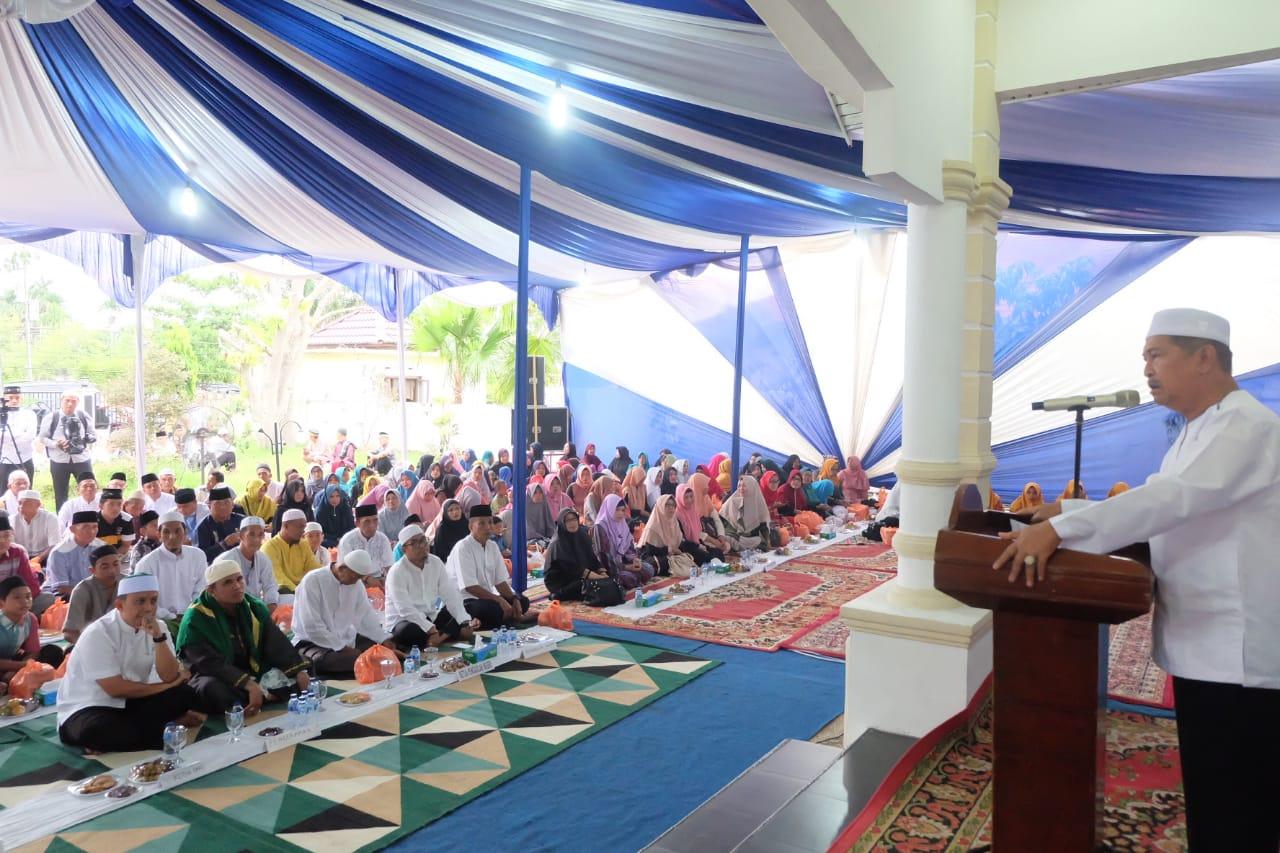 Wabup Syamsuddin Uti Taja Syukuran dan Buka Puasa Bersama di Kediaman Dinas