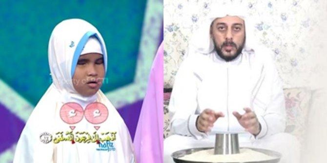 Penonton Terharu Saat Hafizah Tunanetra Bernama Aira Mencari Keberadaan Syekh Ali Jaber