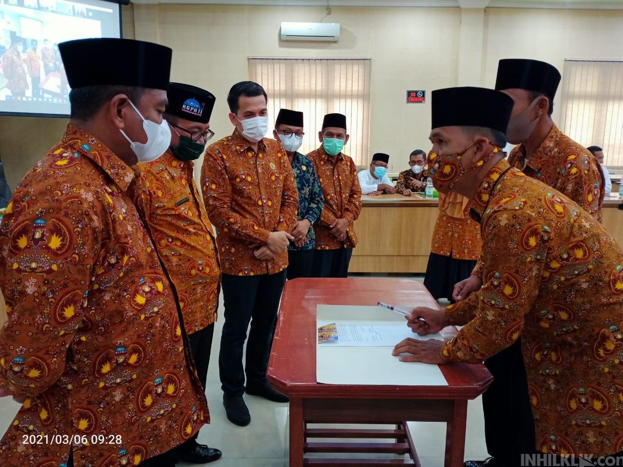 Pelantikan DPD AGPAII Sergai, Dihadiri Bupati Darma Wijaya dan Ketua DPRD dr Riski