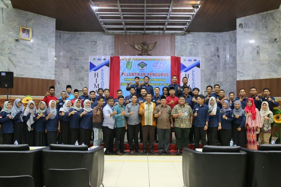 Asisten ll Bupati Inhil Hadiri Pelantikan PB-HIMATA di Pekanbaru