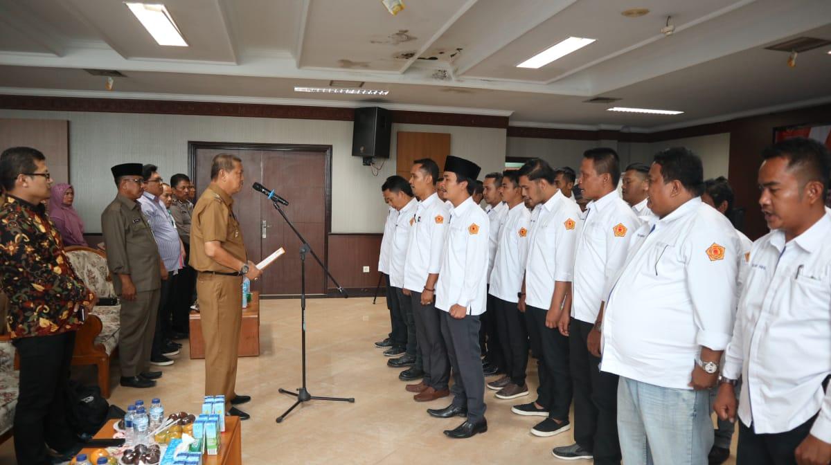 Wabup Inhil Syamsuddin Uti Pengurus FKWI Periode 2019-2022