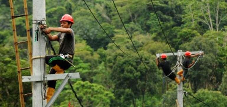 112 Desa di Riau Belum Dialiri Listrik