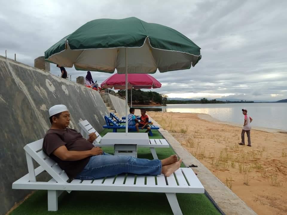 Menikmati Matahari Tenggelam di Wisata Danau Rusa Kabupaten Kampar