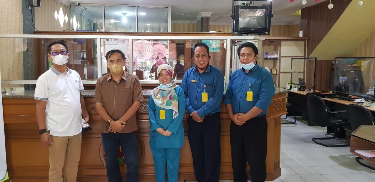 DPRD Inhil Kunjungi Bank BPR Gemilang