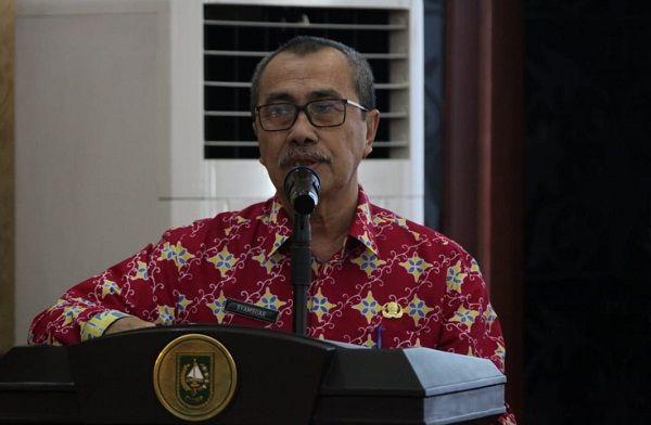 Gubernur: Dukungan Infrastruktur Sangat Diperlukan untuk Perkembangan Industri Riau