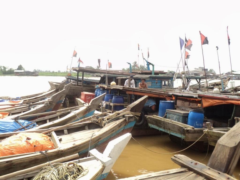 Cuaca Buruk, Sudah 3 Bulan Nelayan di Jambi Tak Melaut