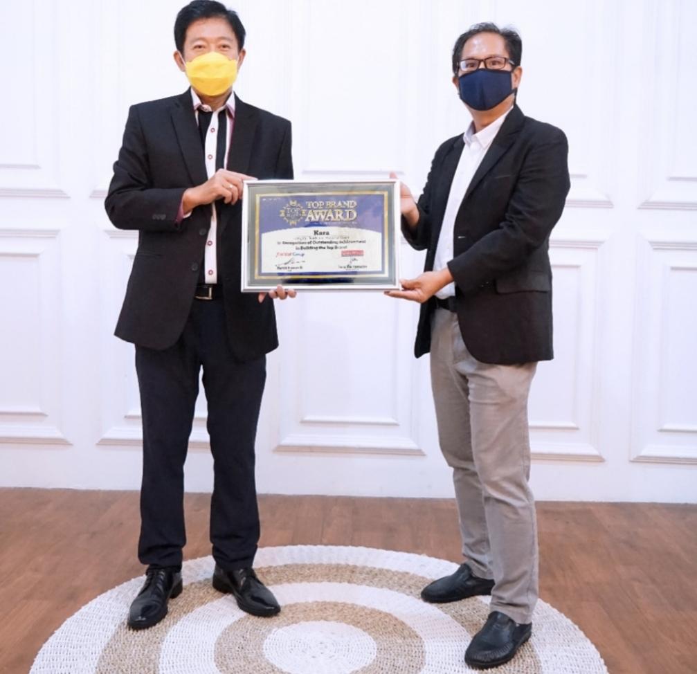 Produk Sambu KARA Kembali Raih TOP BRAND 2021