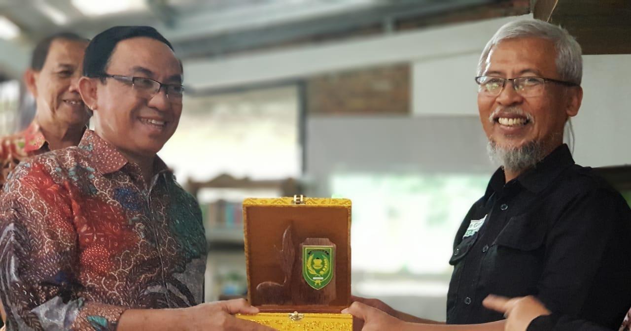 HM Wardan Temui Prof Wisnu Gardjito, Apa yang Mereka Bahas?