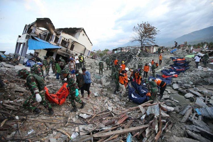 Korban Meninggal Akibat Bencana di Sulteng Capai 2.010 Orang