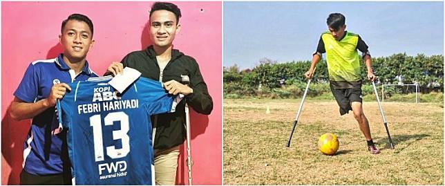 Kisah Pesepak Bola Muda Rela Amputasi Kaki Karena Cedera