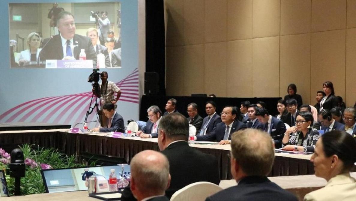 Rapat dengan Negara ASEAN, Menlu AS Sampaikan Dukacita Gempa NTB