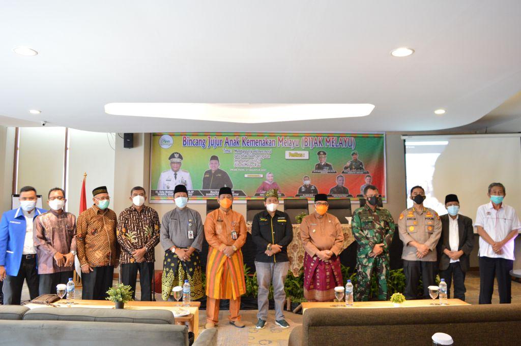 Dihadir Oleh Wagubri, Pijar Melayu Sukses Gelar FGD