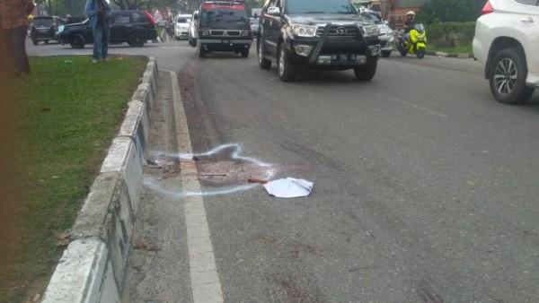 Kecelakaan Maut di Jalan Arifin Ahmad, Saksi Sebut Korban Masih Sempat Bernafas Setelah Terseret