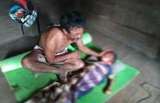 Lepas dari Pasungan, Orang Gila Bacok Bocah Lima Tahun hingga Tewas Mengenaskan