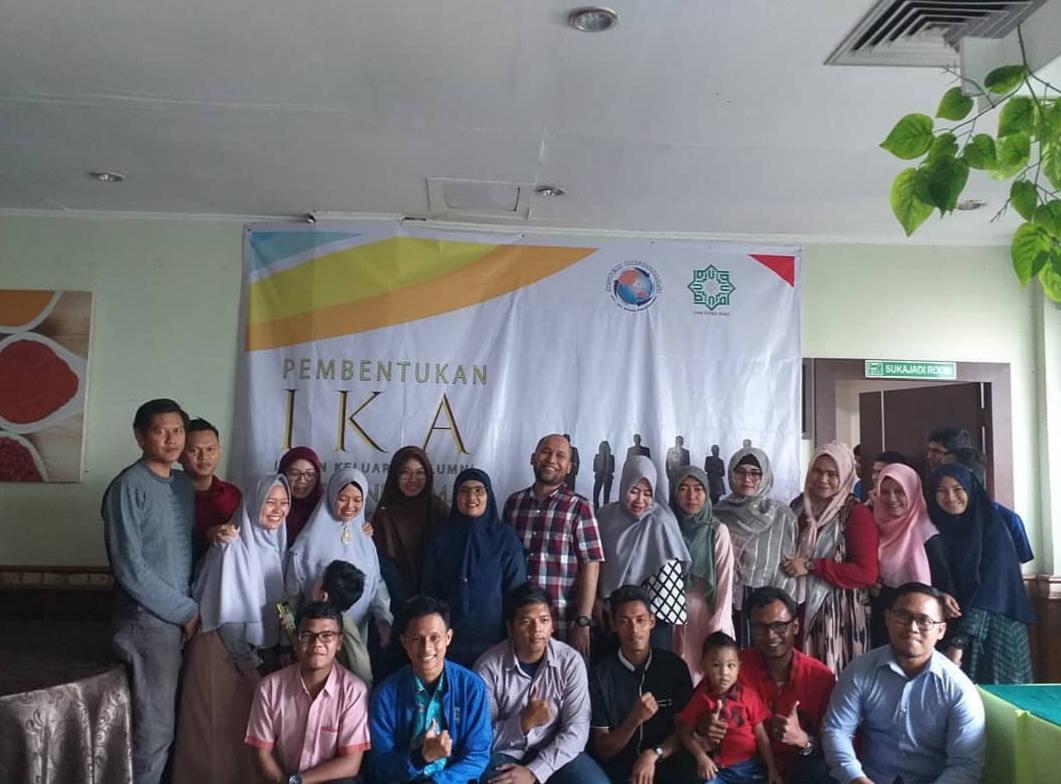 Akhirnya IKA Sistem Informasi UIN Suska Riau Terbentuk