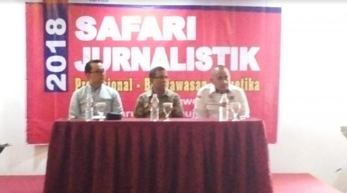 PWI Riau Lakukan Kegiatan Safari Jurnalistik