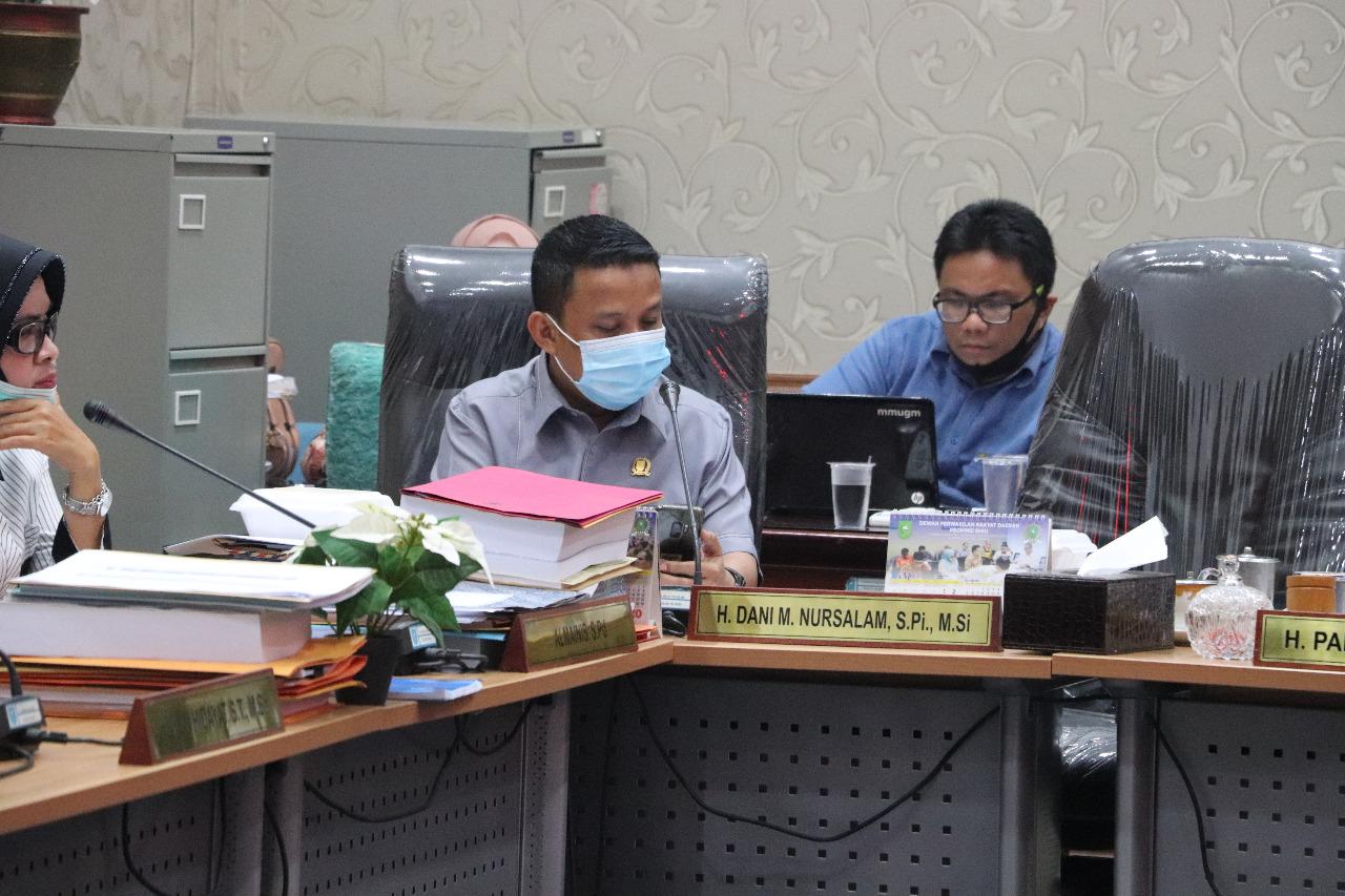Rapat Dengan GM PLN Riau-Kepri, Dani Desak PLN Tuntaskan Listrik 14 Desa di Inhil