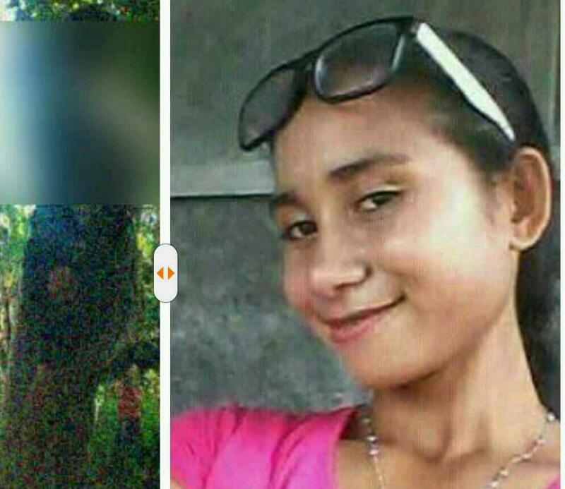 KEJAM!!! Diduga Dibunuh, Mayat Bu Guru Reli Tergantung di Pohon Mangga