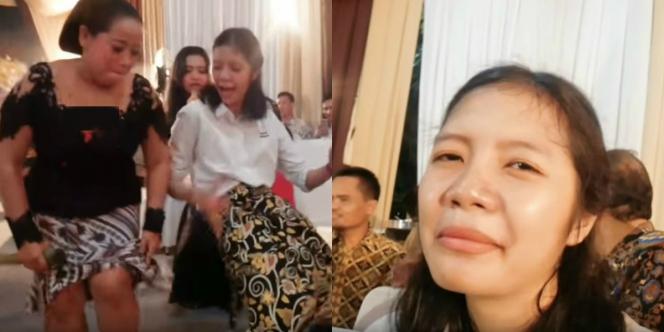 Gokil Gadis Cantik di Pernikahan Mantan Absurd Banget Cuy