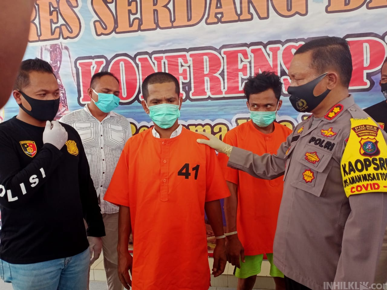 Dua Anggota Palsu F.SP.TSI - K.SPSI Dibekuk Polres Sergai