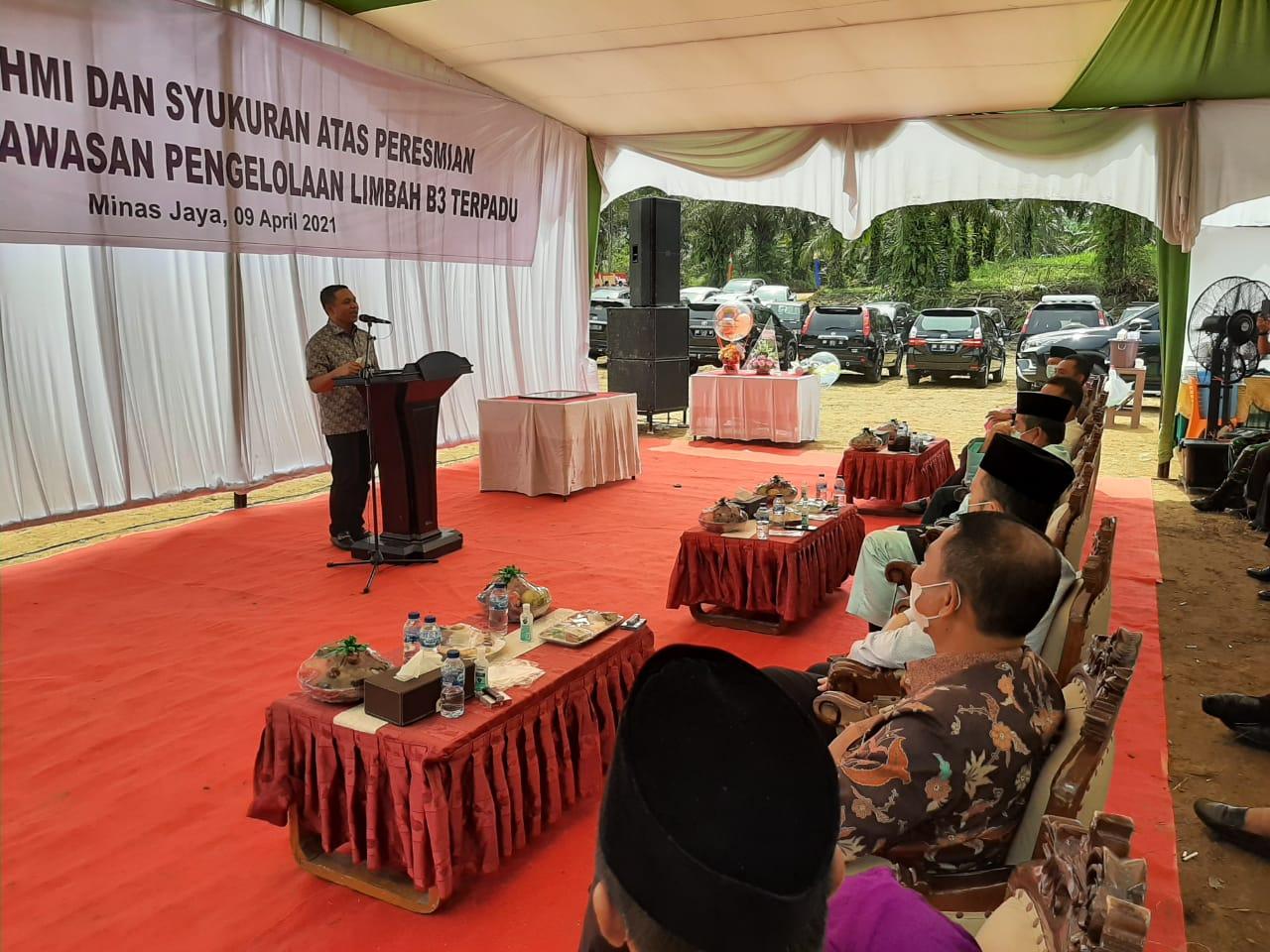 Dukung Upaya Menjaga Lingkungan, Abdul Wahid Dukung Pembangunan Pabrik Limbah Terpadu di Riau