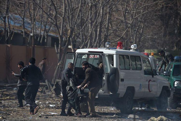 Taliban Pakai Ambulans sebagai Bom Bunuh Diri, 40 Orang Tewas