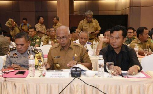 Ikuti Rakor Antisipasi Keamanan, Pj Bupati Inhil Sampaikan Ada 29 Ribu Warga Belum Rekaman e-KTP