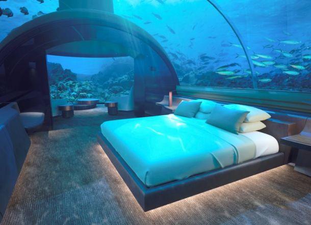Villa Bawah Laut Pertama di Dunia Dibuka di Maladewa