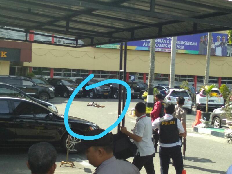 Serang Mapolda Riau, Dua Orang Terduga Teroris Ditembak