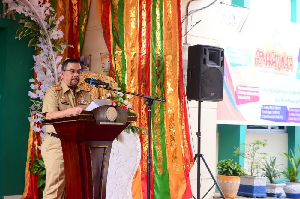 Wagubri Resmikan Riau Ekspor Kerang Dara Ke Thailand