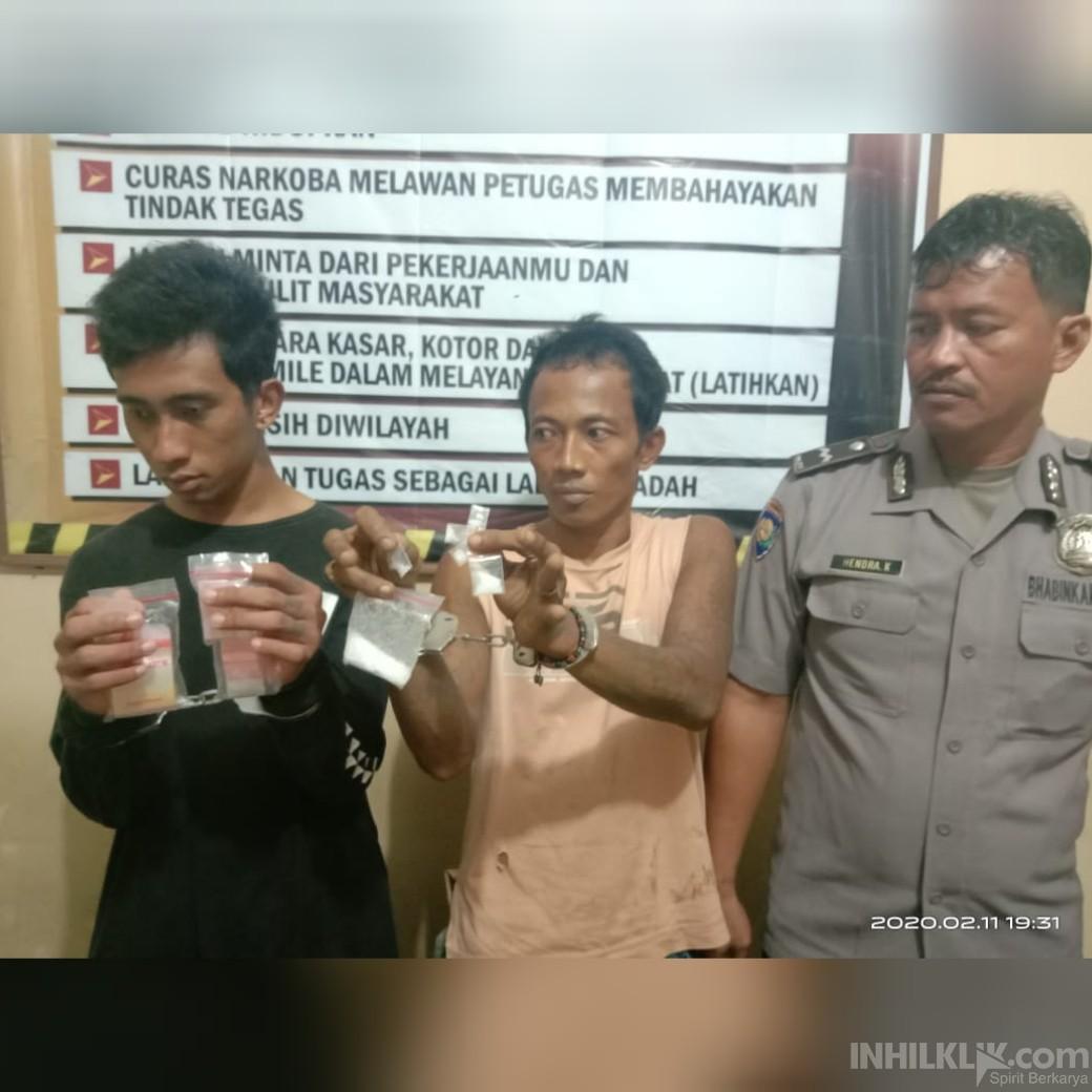 Kurir dan Pengedar Sabu Ditangkap Polisi