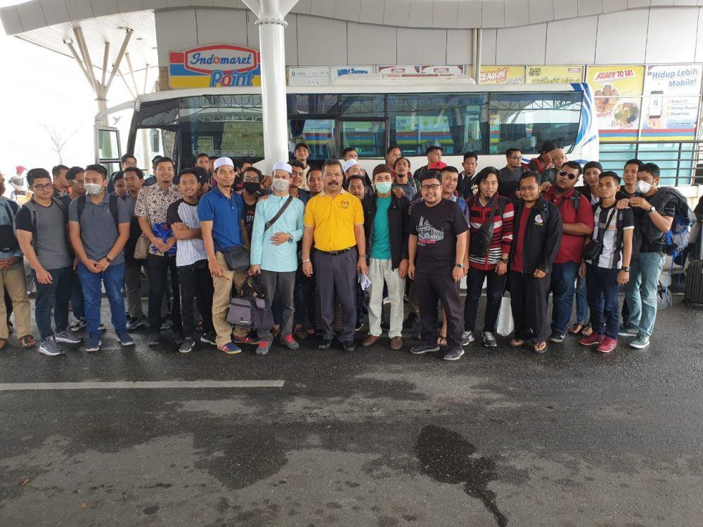 46 Mahasiswa Malaysia Dipulangkan ke Negaranya