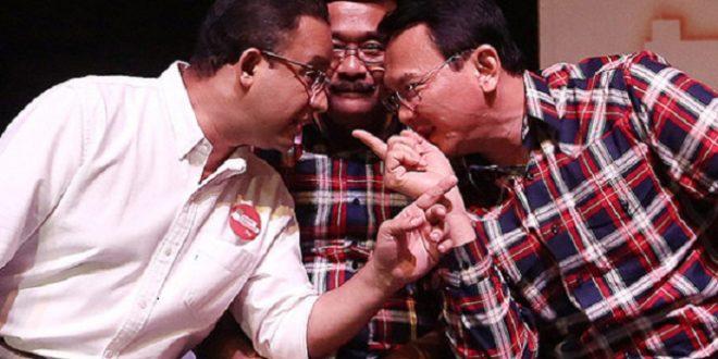 Anies Gusur Ahok, Prabowo Gusur Jokowi?